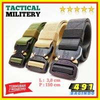Ikat Pinggang Sabuk Gesper Belt Tactical Militery Premium