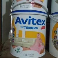 Cat tembok Avitex 5 kg ( galon ) warna SW Super White