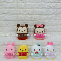 BONEKA UFUFY TSUM TSUM MICKEY MOUSE MINNIE MOUSE