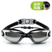 Grilong Kacamata Renang dengan Penutup Telinga - OMSE5ABK