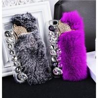 Case Samsung Galaxy J3 J5 J7 Pro Fox Plush DIY Girly Diamond