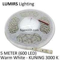 LUMIRS LED STRIP 3528 WARM WHITE 2835 LEDSTRIP KUNING Lampu IP33 IP 33