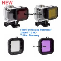 Filter For Housing Waterproof Xiaomi Yi 2 4K Yi Lite Yi Discovery