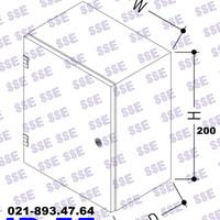 [CALL] BOX PANEL LISTRIK IP55 Uk. 20x20x15 cm
