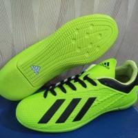 Sepatu Futsal Adidas X Techfit 19 Hijau Hitam Sport Import