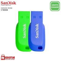 Flashdisk SanDisk Cruzer Blade 16GB-Warna Hijau