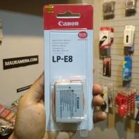 Baterai Kamera Canon EOS 550D, 600D, 650D, 700D LPE8 OEM