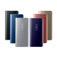 Flip Cover Clear View Cover Samsung J1 J2 J3 J5 Prime 2016 Mirror Case