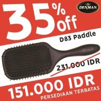 Denman D83 Paddle brush - Sisir Paddle