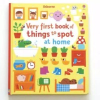 USBORNE VERY FIRST BOOK OF THINGS TO SPOT AT HOME BUKU IMPORT ANAK