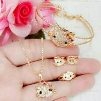 xuping set perhiasan lapis emas 24k 2903
