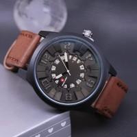Jam tangan keren Jam tangan Pria Jam tangan swis army stainless kulit