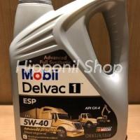 HARGA HEMAT Oli Mesin Diesel Mobil Delvac 1 5W 40 ESP pasti murah