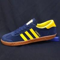 New Produk Sepatu Sneaker Adidas Hamburg Blue Plusbox Adidas