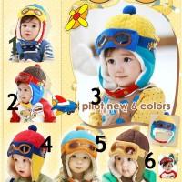 KOREAN BABY HAT - TOPI PILOT
