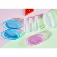 Sikat Gigi dan Lidah Bayi / Baby Finger Toothbrush (dgn kotak/cover)