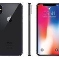 "Apple Iphone X 256Gb Garansi Resmi TAM / IBOX - Perak"""