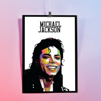 POSTER Michael Jackson - WPAP High Quality Printed