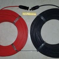 Kabel Solar Panel Surya size 4mm panjang 15 Meter