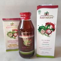 Red Max's Jus Herbal Alami ORIGINAL free Jahe Merah AMH 6 pcs