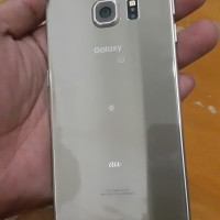 Samsung S6 Edge Gold 64gb minus lcd tompel mulus normal mesin aman