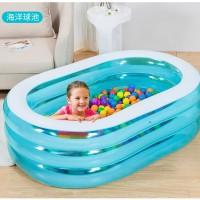 Kolam Renang Anak Ahoy Pirate Friends Swiming Pool - INTEX 57482