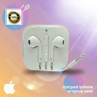 Headset Handsfree Earphone Hf Original 100% iPad Iphone 5G 5S 6G 6S 6+