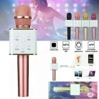Murah Mikrofon Microphone Mic Karaoke KTV Smule Wireless Bluetooth Q7