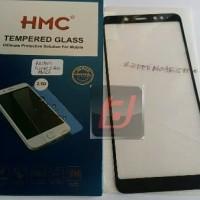 WQ8 anti gores HMC tempered glass 2.5D full cover Xiaomi Redmi Note 5