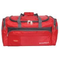 Real Polo Travel Bag - Duffle Bag - Tas Pakaian Multi Fungsi 7065