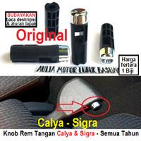 knop knob hand brake tombol rem tangan original calya dan sigra - 1pcs