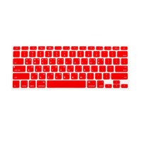 Keyboard Protector Macbook Label Korea - Layout US - Red