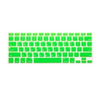 Keyboard Protector Macbook Label Korea - Layout US - Green