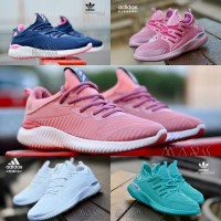 Adidas Alphabounce Women Sepatu Sneakers Running Gym Senam Zumba Murah