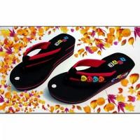 Sandal Wedges Jepit Cewek Sandal Rumah capit Santai murah Baru