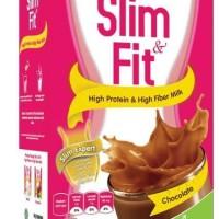 Slim & fit coklat