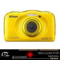 Nikon Coolpix W100 Digital Camera - Yellow