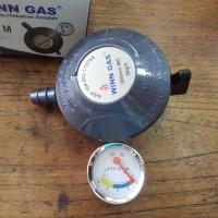Regulator kepala gas winn gas meter w 298 m