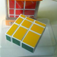 Rubik Mirror 1x3x3 warna - Rubik Cube Mirror 1x3x3 Warna