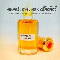 Bibit Parfum ARABIAN WOOD 12ml wangi aroma kayu oud murni non alkohol