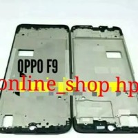 FRAME LCD TULANG BEZEL TULANG LCDTOUSCREN ORI OPPO F9 F 9