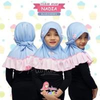 Jilbab Anak Miulan | Jilbab Instan NADIA | Kerudung Instan Anak