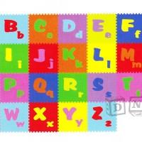 Mainan Edukasi Anak Karpet Matras Puzzle Evamat Evamats Abjad ABC