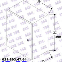 [CALL] BOX PANEL LISTRIK IP55 Uk. 30x20x15 cm