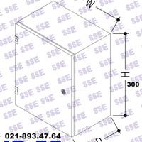 [CALL] BOX PANEL LISTRIK IP55 Uk. 30x30x15 cm