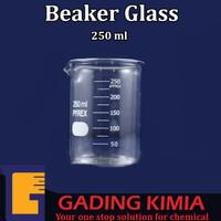 Beaker Glass 250ML/ Gelas Ukur 250ml