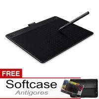 Premium WACOM Intuos Art Medium Black CTH690 K0 SOFTCASE ANTIGORES