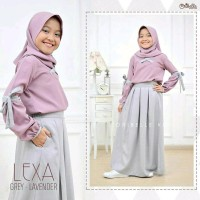 Ready Dua Warna Setelan Anak Perempuan Baju Stelan Anak Cewek Fashion