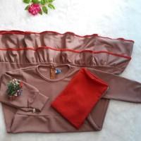 Baju Muslimah Anak Gamis Set