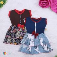 Dress Emma Yukensi Uk 3-12 Bulan Baby Anak Perempuan Murah Baju Dres